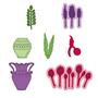 Heartfelt Creations Tulip Vase & Fillers -stanssi