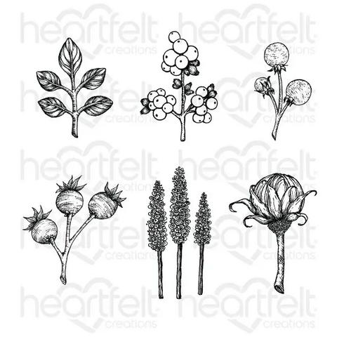 Heartfelt Creations Floral Shoppe Accents -leimasin