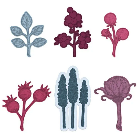 Heartfelt Creations Floral Shoppe Accents -stanssi
