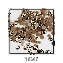 Studio Katia koristeet Cocoa Bean, tekokristallit