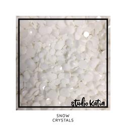 Studio Katia koristeet Snow Crystals, tekokristallit