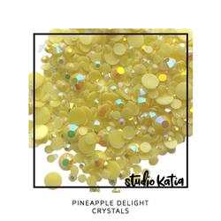 Studio Katia koristeet Pineapple Delight, tekokristallit