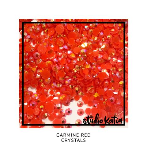 Studio Katia koristeet Carmine Red, tekokristallit
