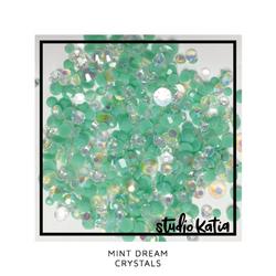 Studio Katia koristeet Mint Dream, tekokristallit