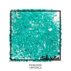 Studio Katia koristeet Poseidon, tekokristallit