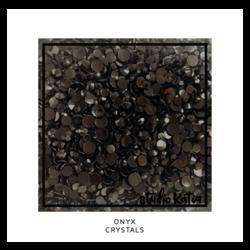 Studio Katia koristeet Onyx, tekokristallit