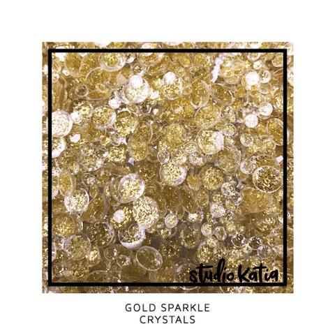Studio Katia koristeet Gold Sparkle Crystals
