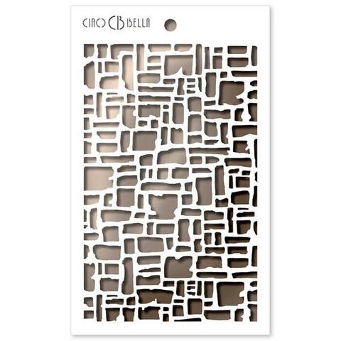Ciao Bella sapluuna Abstract Bricks, 5