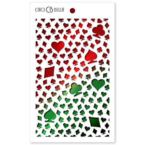 Ciao Bella sapluuna Card Suits, 5