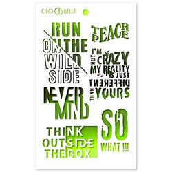 Ciao Bella Bad Girls sapluuna Think Outside The Box, 5