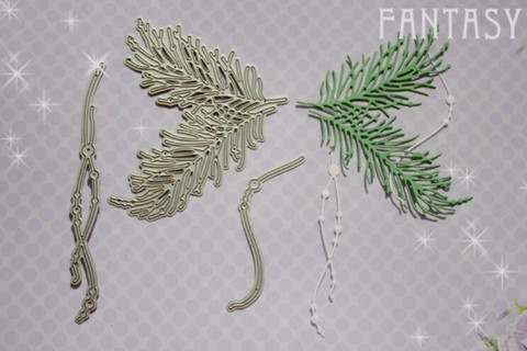 Fantasy Dies stanssi Pine and Threads 1