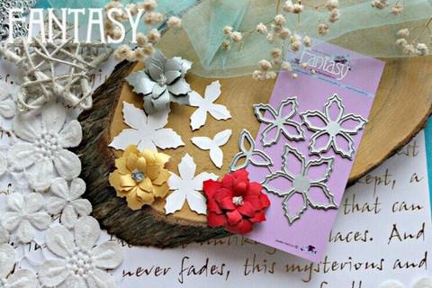 Fantasy Dies stanssi Poinsettia