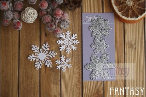 Fantasy Dies stanssi Snowflakes