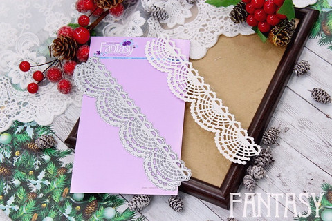 Fantasy Dies stanssi Lace Ribbon