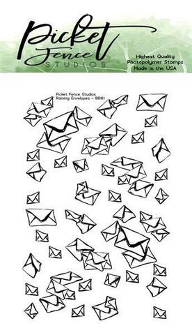 Picket Fence leimasin Raining Envelopes