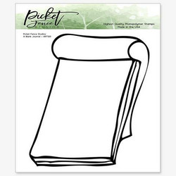 Picket Fence leimasin A Blank Journal