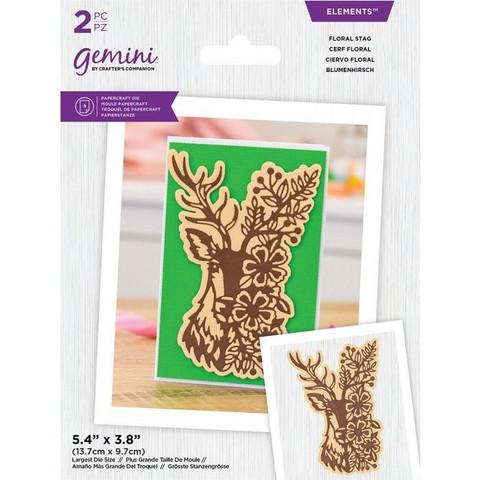 Gemini stanssi Floral Stag