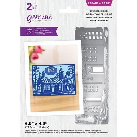 Gemini stanssi Create-A-Card, Church Blessings