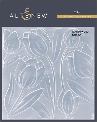 Altenew 3D kohokuviointikansio Tulip