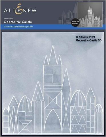 Altenew 3D kohokuviointikansio Geometric Castle