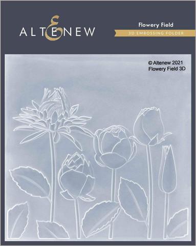 Altenew 3D kohokuviointikansio Flowery Field