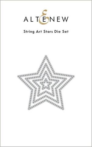 Altenew String Art Stars -stanssi