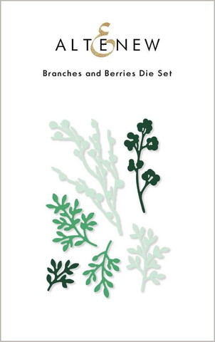 Altenew Branches and Berries -stanssi