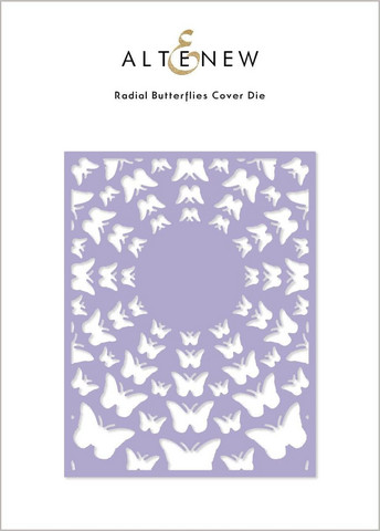 Altenew Radial Butterflies Cover -stanssi