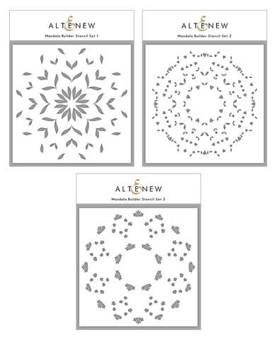 Altenew Mandala Builder -sapluunasetti