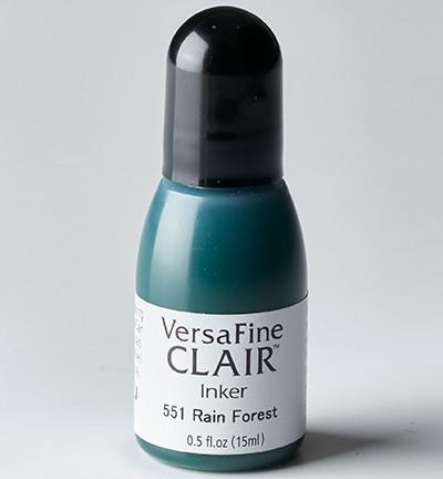 VersaFine Clair täyttöpullo, sävy Rain Forest