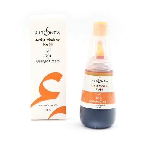 Altenew Alcohol Ink -muste, sävy Orange Cream