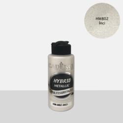 Cadence Hybrid Metallic Acrylic -akryylimaali, sävy Pearl, 120 ml