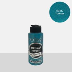 Cadence Hybrid Metallic Acrylic -akryylimaali, sävy Turquoise , 120 ml