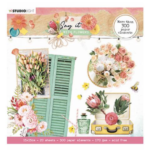 Studio Light leikekuvakirja Say It With Flowers