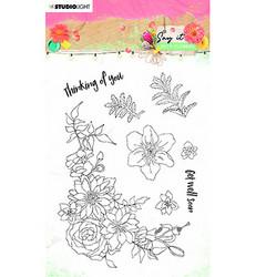 Studio Light leimasinsetti Say It With Flowers