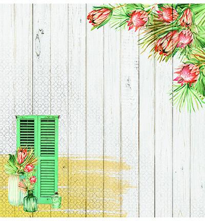 Studio Light skräppipaperi Say It With Flowers