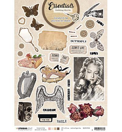 Studio Light A4 korttikuvat Inspired by Jolanda de Ronde