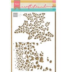 Marianne Design sapluuna Butterfly Textures