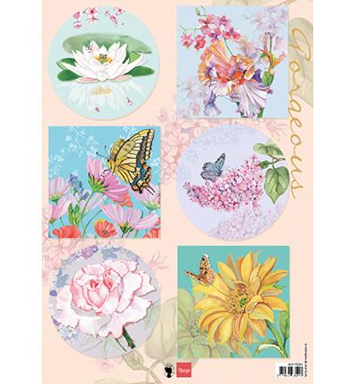 Marianne Design korttikuvat Gorgious Flowers