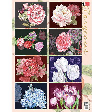 Marianne Design korttikuvat Gorgious Paintings