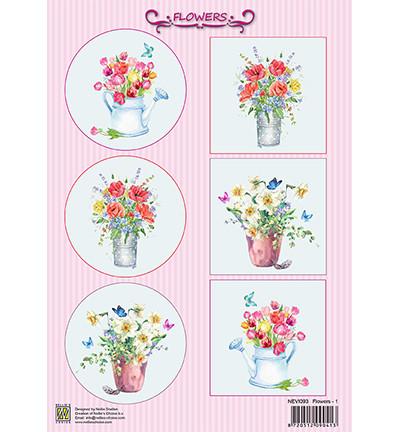 Nellie's Flowers -korttikuvat