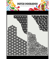 Dutch Doobadoo Slimline Cracked Patterns -sapluuna