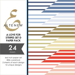 Altenew paperipakkaus A Love for Stripes Set D