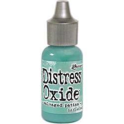 Distress Oxide täyttöpullo, sävy Salvaged Patina