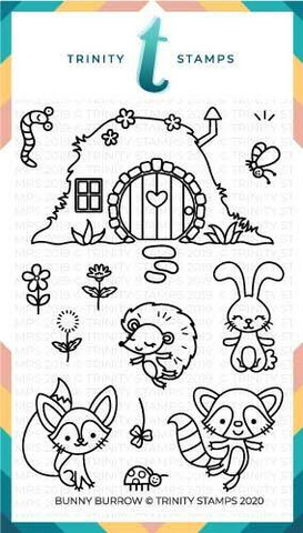 Trinity Stamps leimasin Bunny Burrow