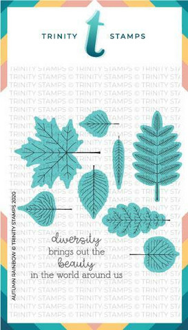 Trinity Stamps stanssi Autumn Rainbow