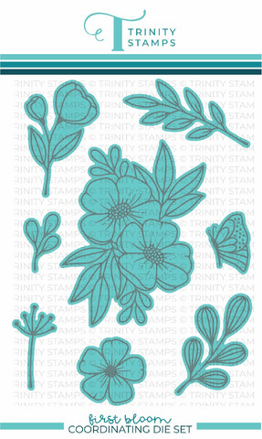 Trinity Stamps stanssi First Bloom