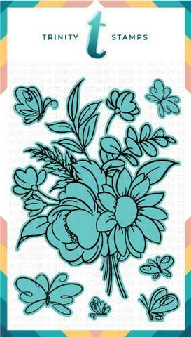 Trinity Stamps stanssi Blooming Bunch