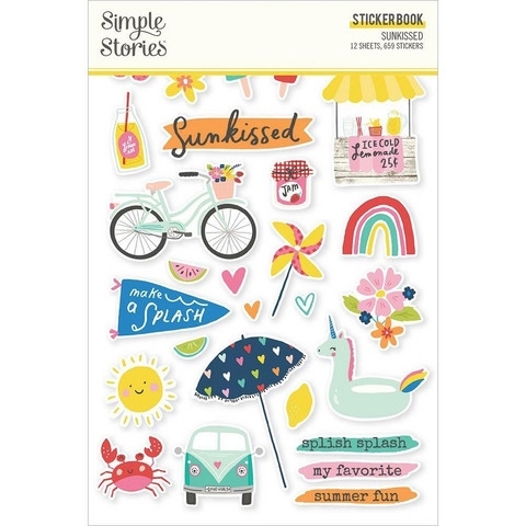 Simple Stories tarrakirja Simple Sunkissed