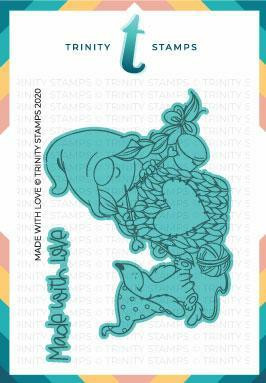 Trinity Stamps stanssi Made with Love